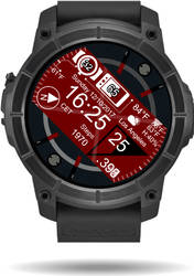 Datum Left - Face skin for Android Wear Tizen by Melllin