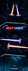 Erza Scarlet - Heart Kreuz Swords for Beat Saber by Melllin
