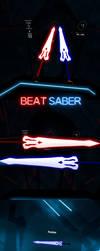 Erza Scarlet - Morning Star Swords for Beat Saber by Melllin