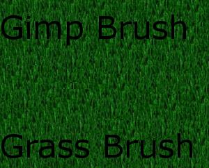 Gimp Grass Brush