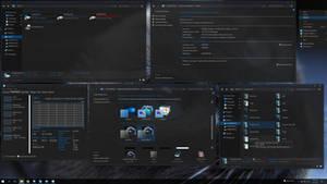 SteamyBlue Windows10 Theme