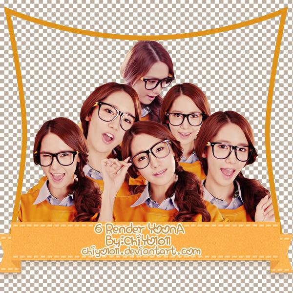 6 PNG/Render Yoona By ChiYo1011 by ChiYo1011
