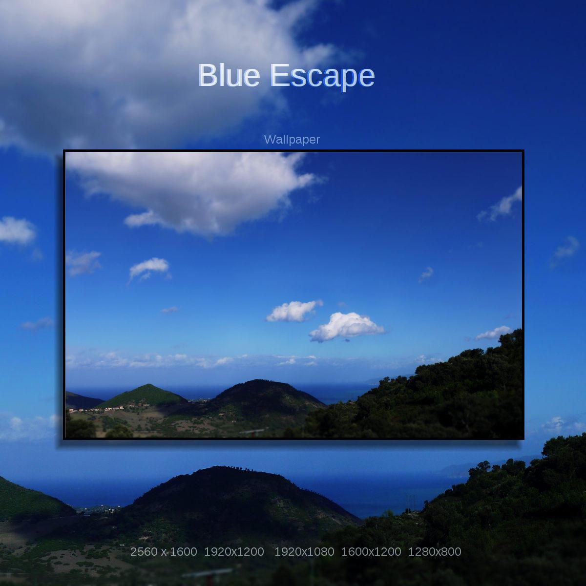 Blue Escape by Momez