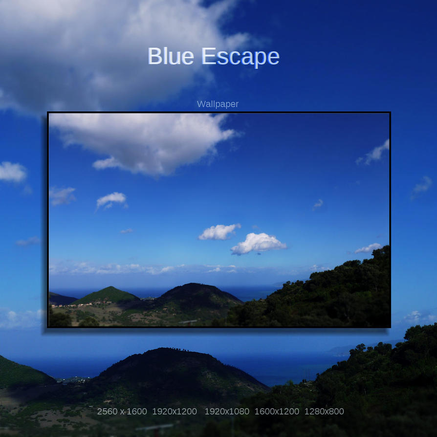Blue Escape by Momez