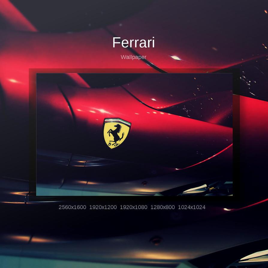 Ferrari by Momez