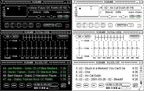 ASCII Winamp by Jerm123321