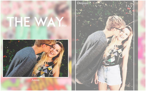 + The Way. PSD