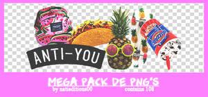 + Mega Pack de png's |regalito por los 900|