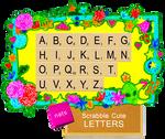 +Scrabble Cute Letters