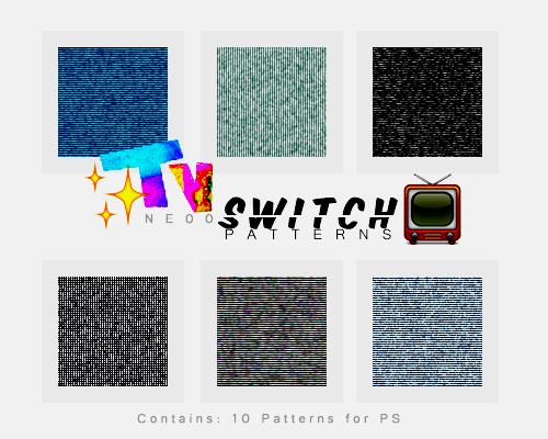 + TV Switch Patterns  10 