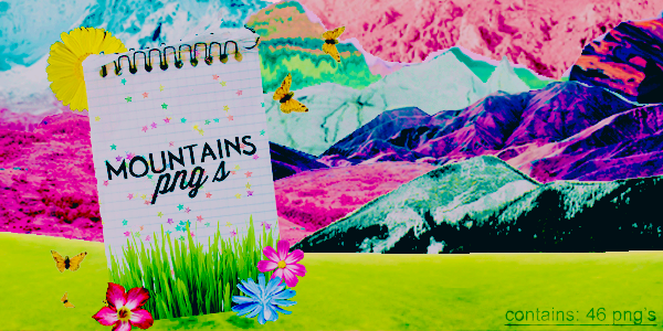 + Mountains Png's |46| by natieditions00