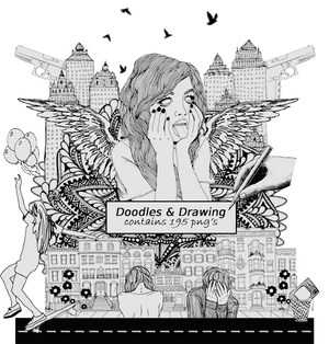 + Doodles and Drawing |Png's||195|