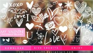 + My Valentine |Brushes|