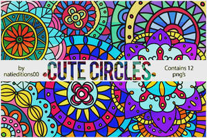 + Cute Circles  Png's  12  by natieditions00
