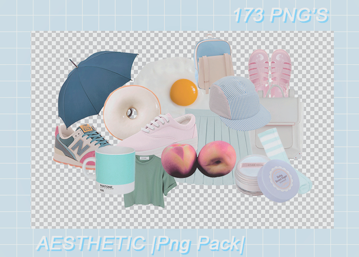 + AESTHETIC |Png Pack|