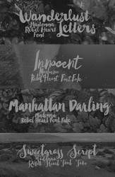 + Rebel Heart |FONTS| by natieditions00