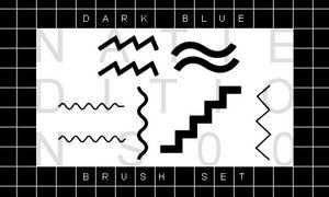 + DARK BLUE |Brush Set||6|