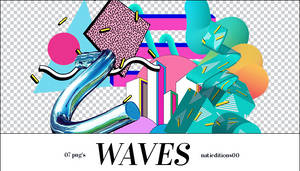 + Waves |7 png's|