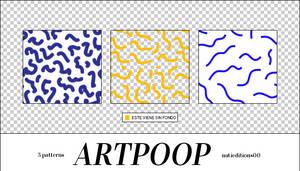 + ARTPOOP PATTERNS |3|