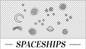 + Spaceships (12Brushes)