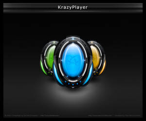 KrazyPlayer for Winamp Modern