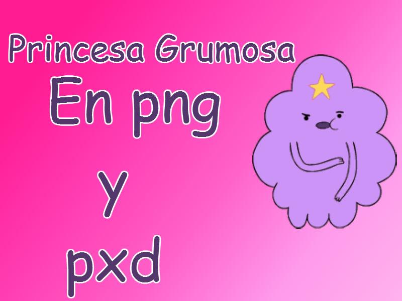 Princesa Grumosa en png y pxd by dulcepanquecito