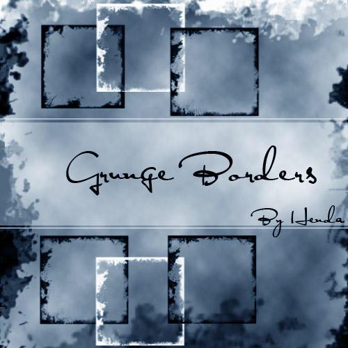 Grunge Brushes by Henda-Stock