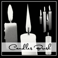 Candles Brushes by Henda-Stock