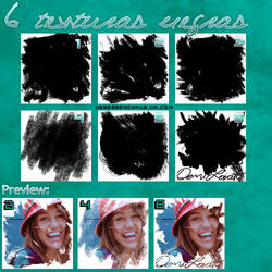6 texturas negras?