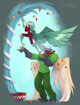 Igrath and Fae Stepping Up to Christmas