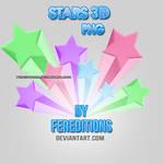 Stars 3D PNG