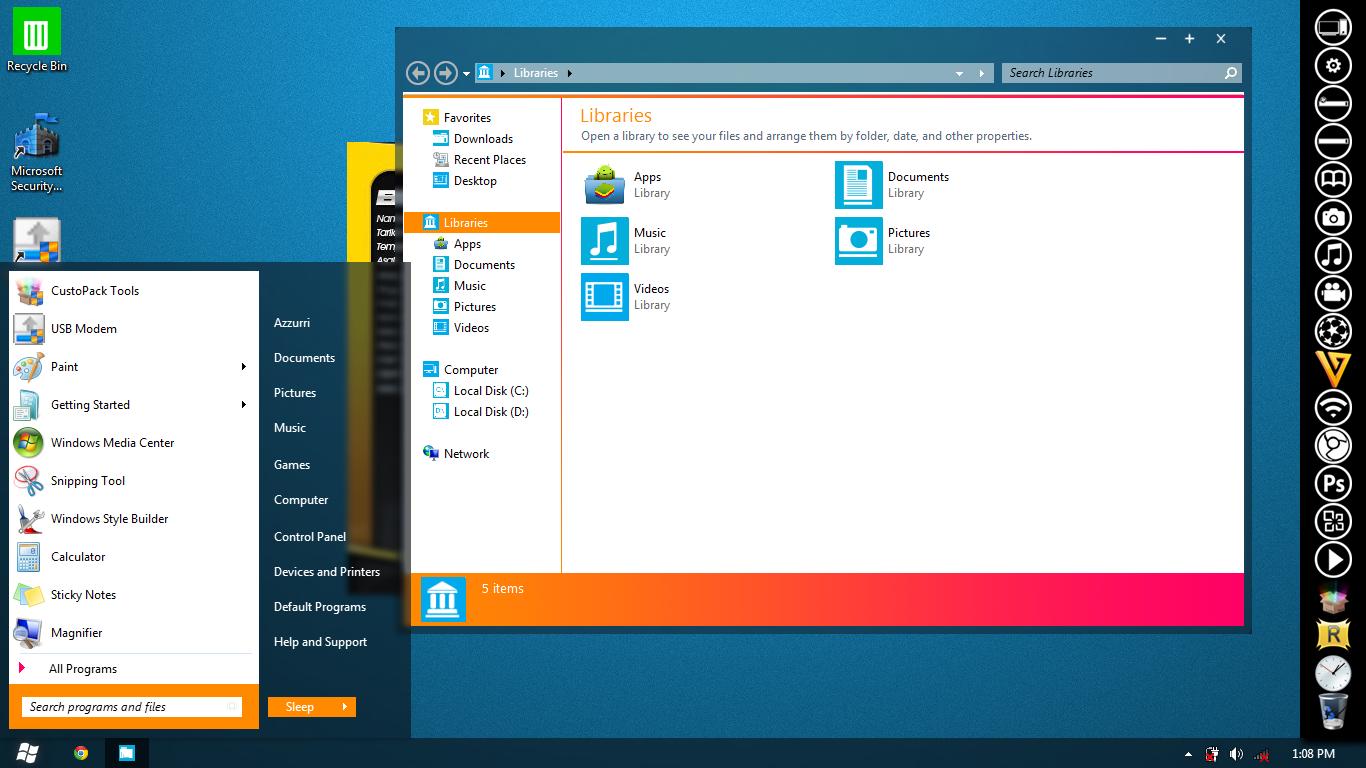 Windows AR7 Mango 4.0 by afiqreza7
