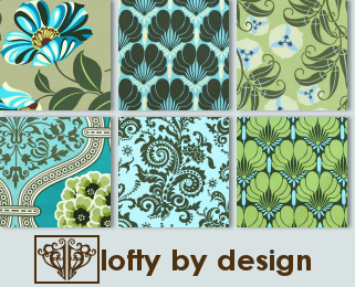 Retro Chic Icon Textures by LoftybyDesign