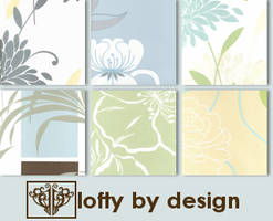 Soft Florals Icon Textures