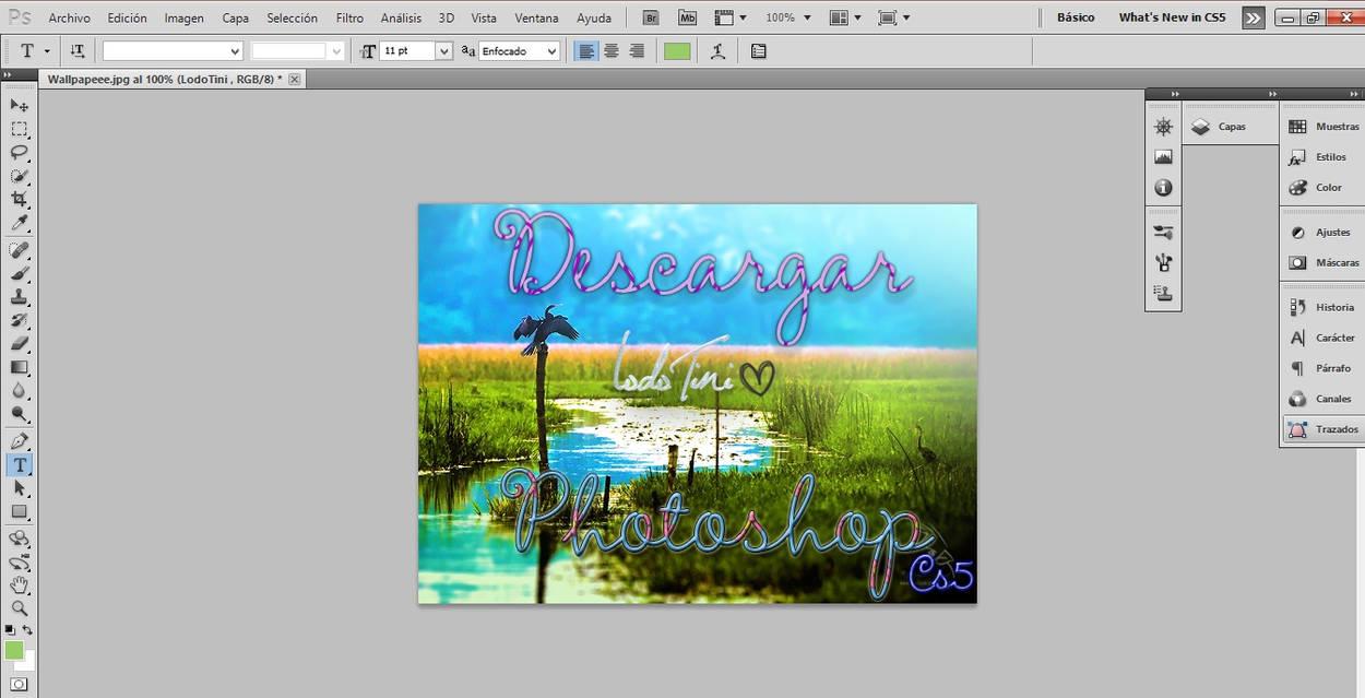 descargar photoshop cs5