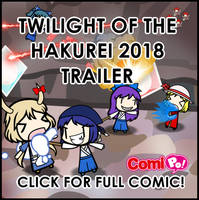 Twilight of the Hakurei 2018 Trailer