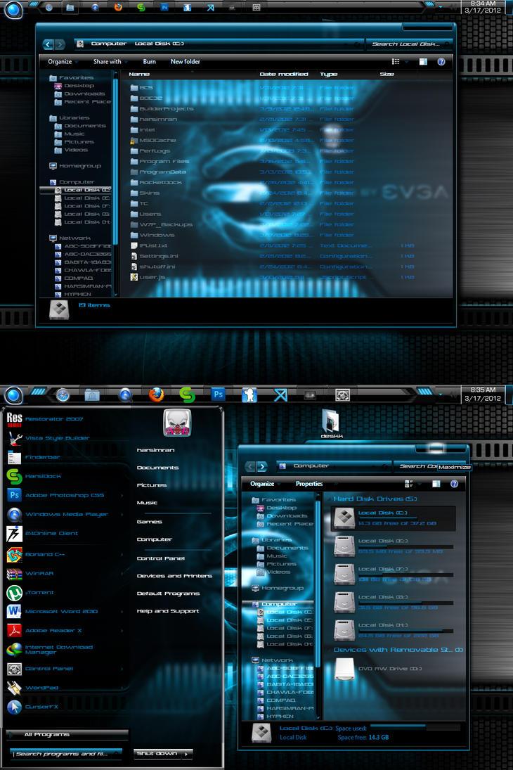 Daark Remix *UPDATE* x86 by Mafia-007
