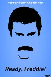 Freddie Mercury Wallpaper Pack by hmaxkay