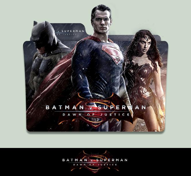 Batman V Superman:Dawn of Justice Folder icon by sornay on ...