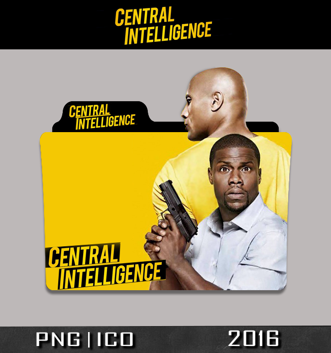 Central Intelligence Folder Icon By Sornay On Deviantart