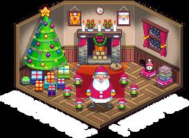 Merry Christmas... by gunstar-red