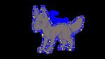 Running Wolfy by Firewolf247
