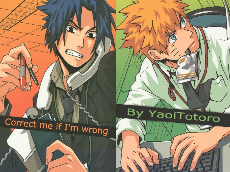 Correct me if I'm wrong 2 (NaruSasu bonus) by YaoiTotoro on