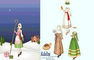 Adaline: A Christmas Kiss Doll
