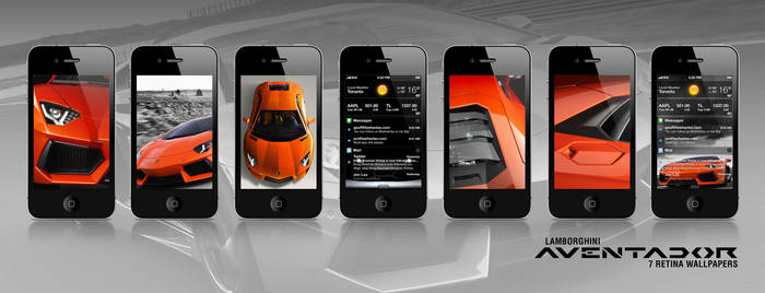 Aventador - Retina wallpapers for the iPhone