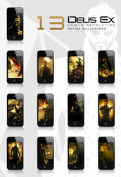 Deus Ex : HR - Retina wallpapers for the iPhone