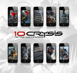 Crysis - Retina wallpapers for the iPhone