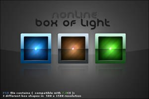 Box of Light PSD file by nonlin3