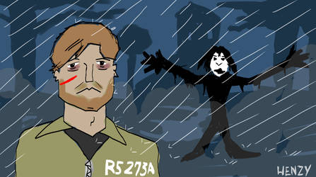 Silent Hill Downpour Animated .gif by Phenzyart