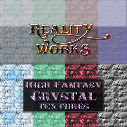 Reality Works High Fantasy Crystal Textures